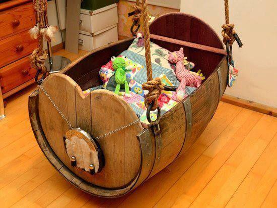 Culle per neonato fai da te