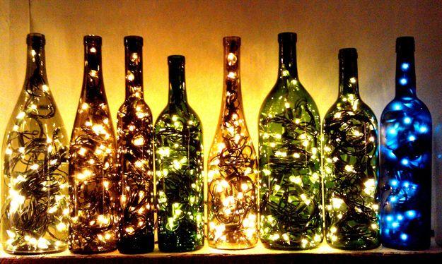Trasformare una bottiglia in lampada