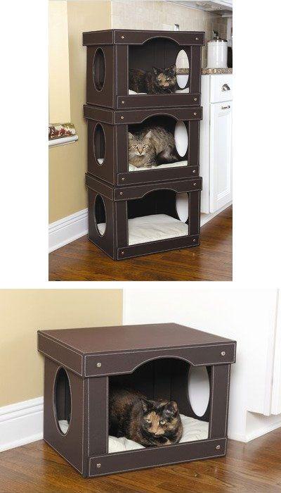 Cucce per gatti fai da te pagina 3 di 10 riciclofacile for Box parto cani fai da te