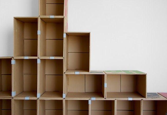 Populaire Risparmia e ricicla con i mobili di cartone - RicicloFacile.it  TW44