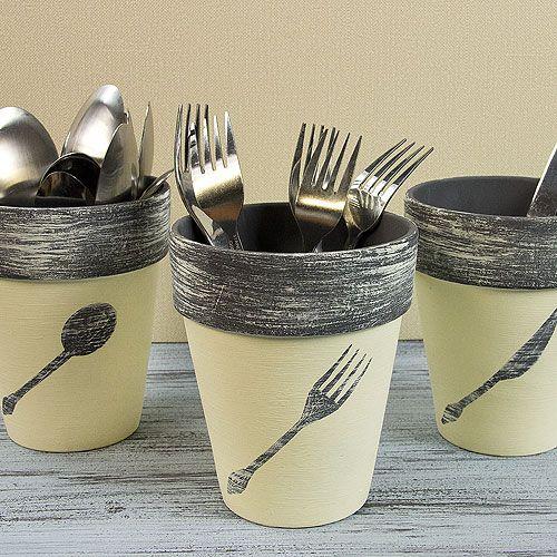 Idee creative per riciclare i vasi di terracotta