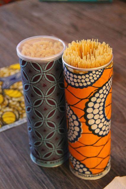 Tubi di Pringles si trasformano in porta spaghetti