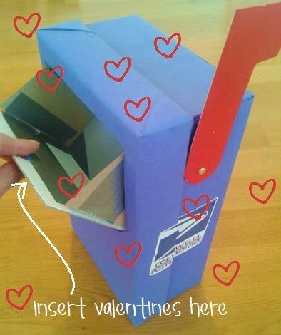 ricicla la scatola delle scarpe come porta lettere
