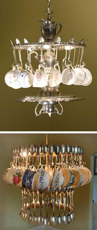 Riciclo creativo riciclare i cucchiai e le forchette