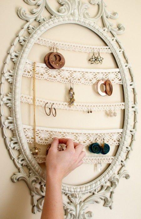 Orecchini in ordine con il riciclo creativo