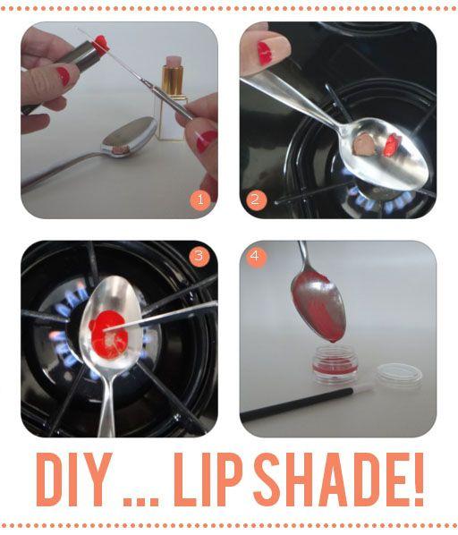 Riciclare un rossetto del colore che preferiamo!