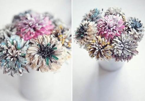 Mazzo di fiori di carta idea regalo festa della mamma