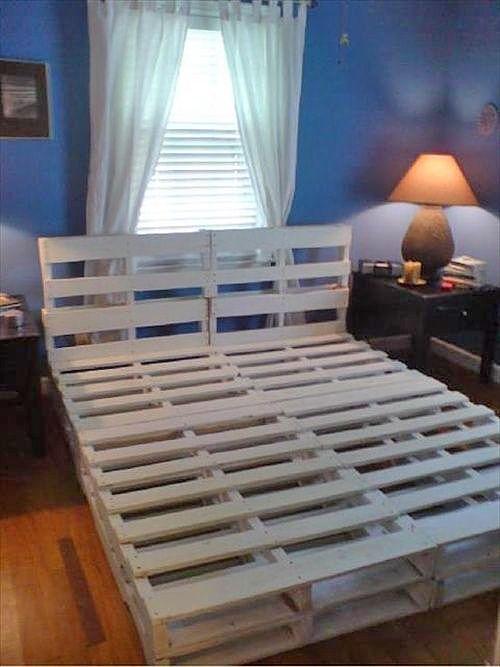 Realizzare un letto con i pallets