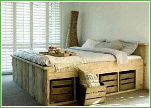 realizzare-un-letto-con-i-pallets