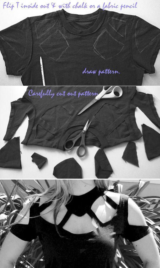 Come riciclare le magliette