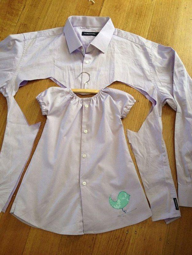 Come riciclare le camicie