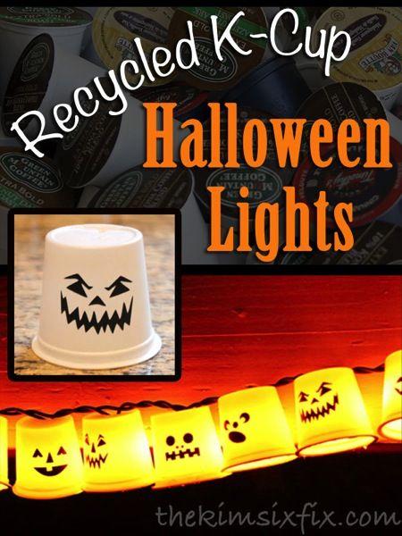 Riciclo creativo ad Halloween