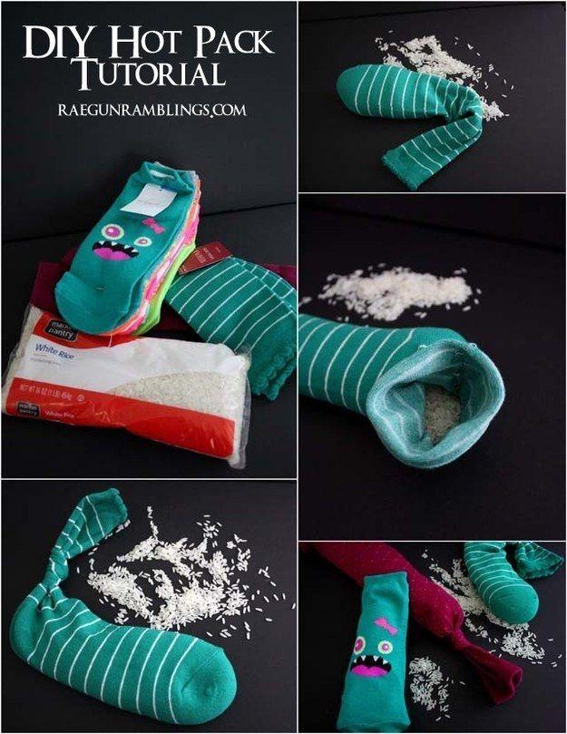 Riciclo creativo dei calzini