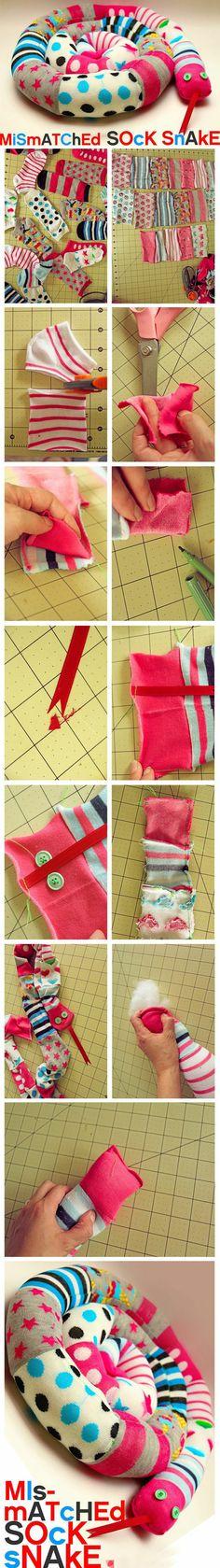 riciclare i calzini