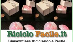 scatolina origami con materiale riciclato